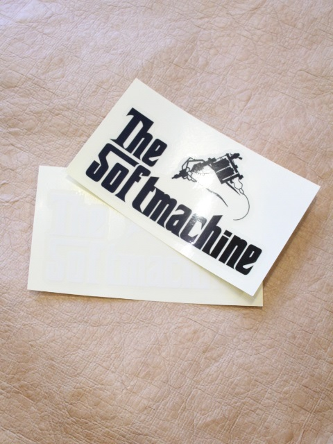 SOFTMACHINE  「GOD STICKER」 ステッカー