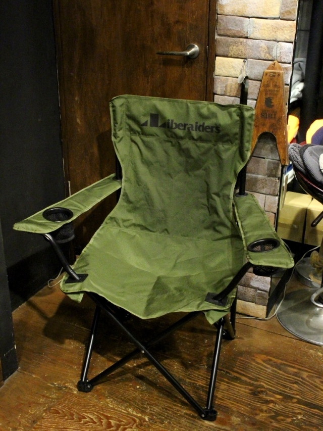 Liberaiders  「LIBERAIDERS FOLDING CHAIR 」  フォールディングチェア
