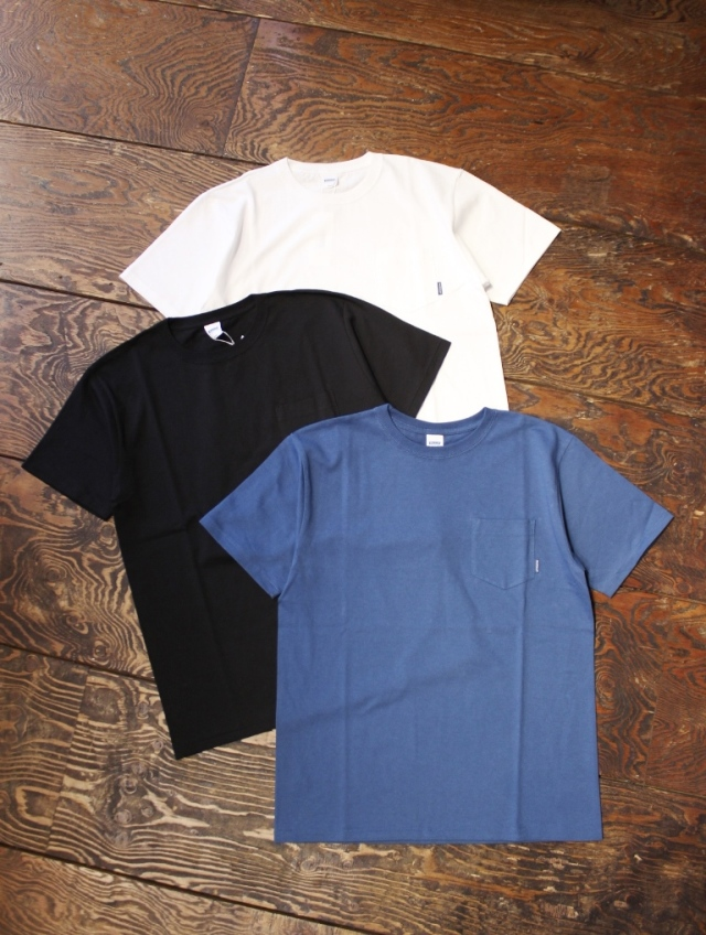 RADIALL  「PLAIN - CREW NECK POCKET T-SHIRT」 ポケットティーシャツ