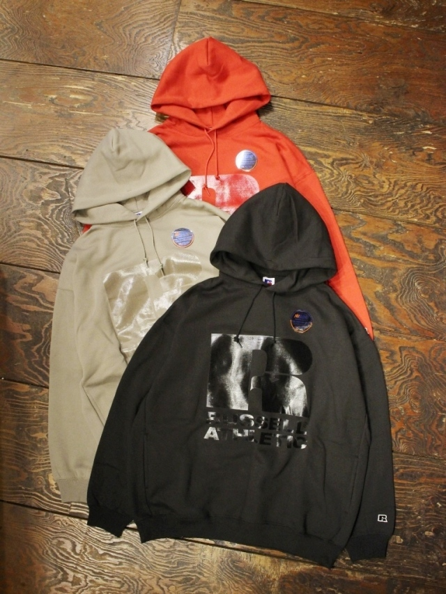 COOTIE × Russell Athletic  「 T/C Pullover Parka  」 プルオーバーパーカー
