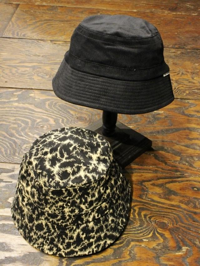 COOTIE   「 Corduroy Leopard Bucket Hat 」  バケットハット