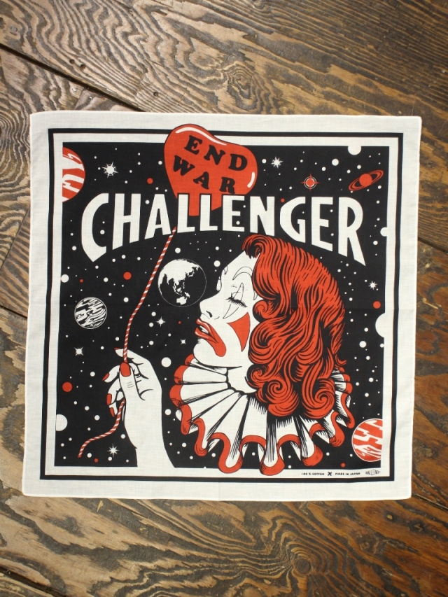 CHALLENGER   「END WAR BANDANA」  バンダナ
