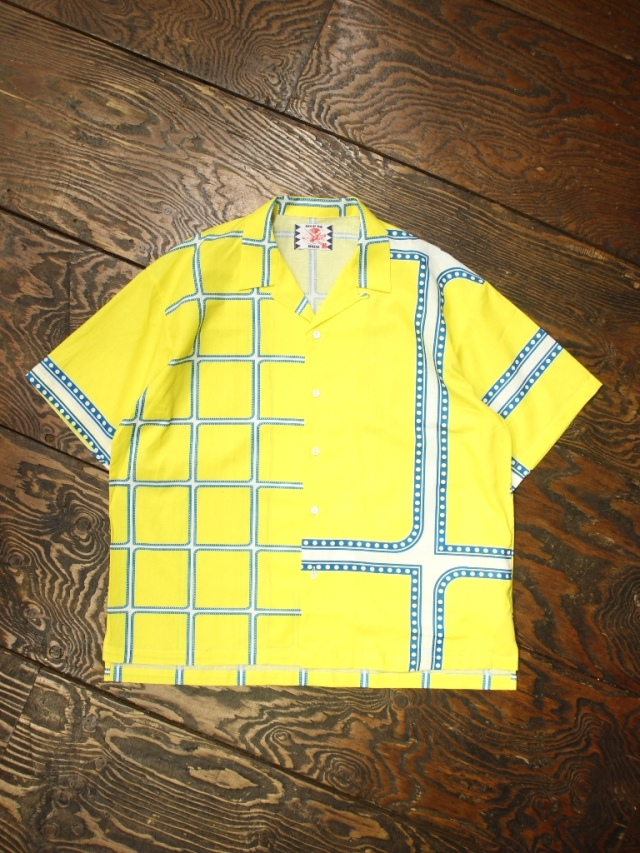 SON OF THE CHEESE × Sam Ryser  「Chili Shirts 」  オープンカラーシャツ