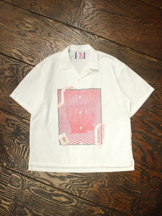 SON OF THE CHEESE × Sam Ryser   「Letters Shirts 」  オープンカラーシャツ