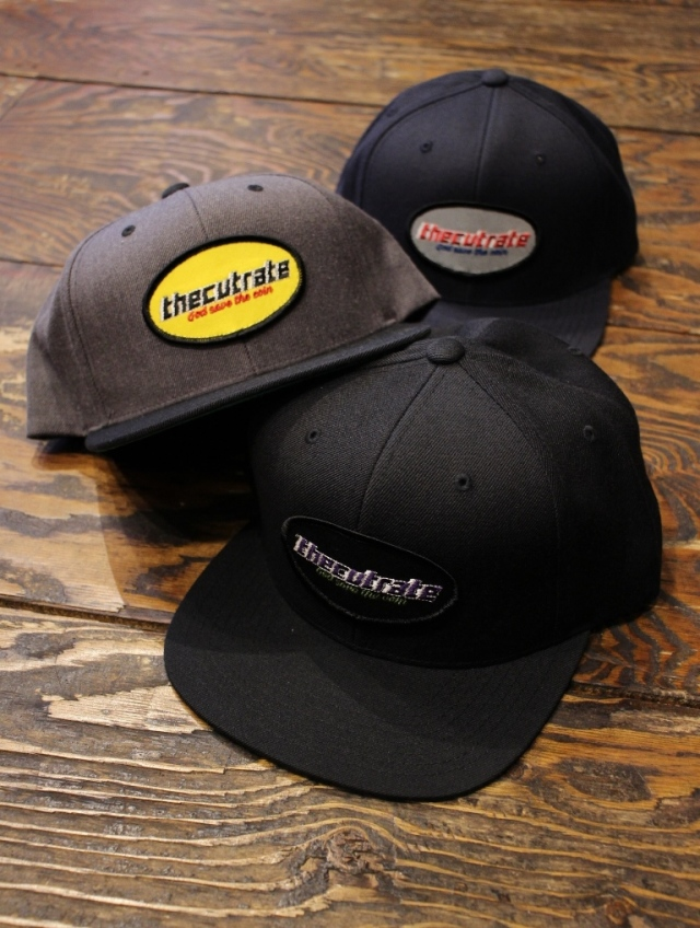 CUT RATE  「WAPPEN CAP」 ワッペンキャップ
