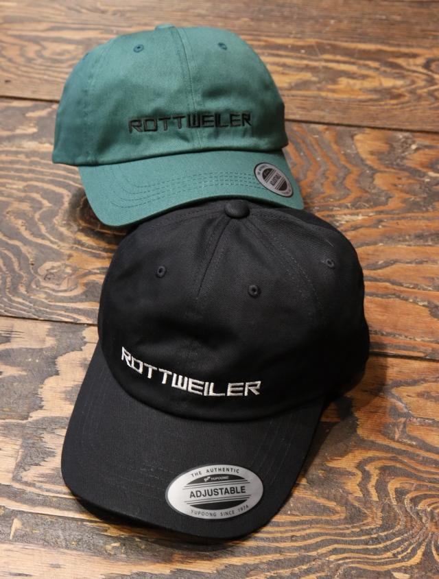 ROTTWEILER  「 R.T.W CAP 」  6パネルキャップ