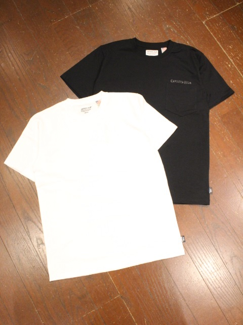 CAPTAINS HELM   「# BACTRIA-PROOF LOGO POCKET TEE」 ポケットティーシャツ
