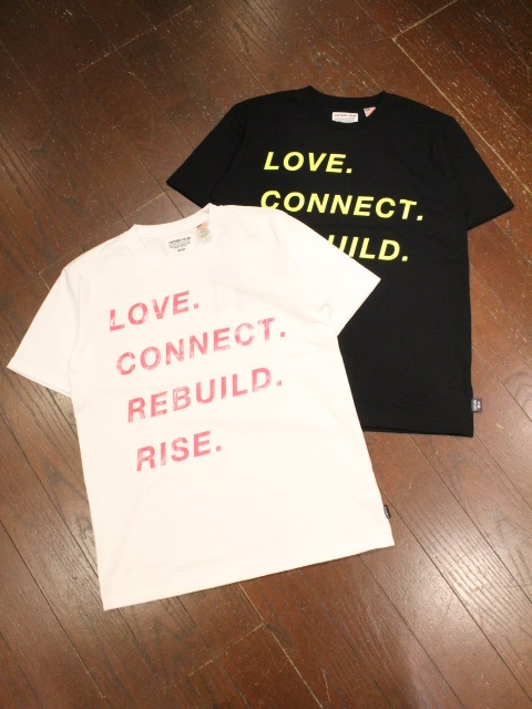 CAPTAINS HELM   「# BACTRIA-PROOF LOVE TEE」 プリントティーシャツ