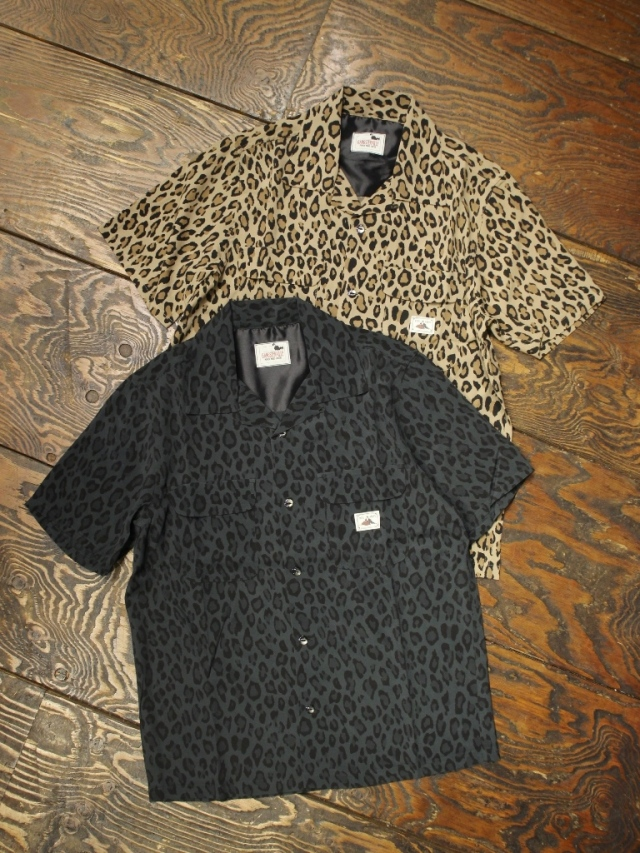 GANGSTERVILLE   「RISE ABOVE - S/S SHIRTS」  オープンカラーシャツ