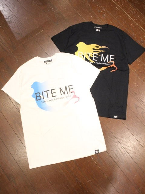 CHALLENGER × CAPTAINS HELM   「#BITE ME TEE」   プリントティーシャツ