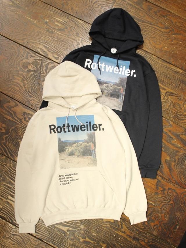 ROTTWEILER  「Desert Photo Parka 」   プルオーバーパーカー