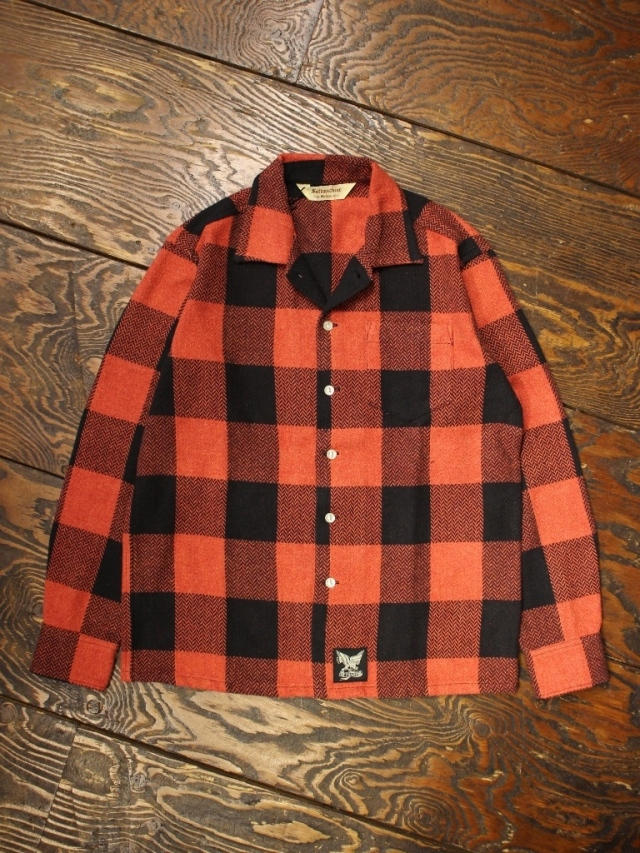 SOFTMACHINE  「MARVERICK SHIRTS L/S」 コットンネルシャツ