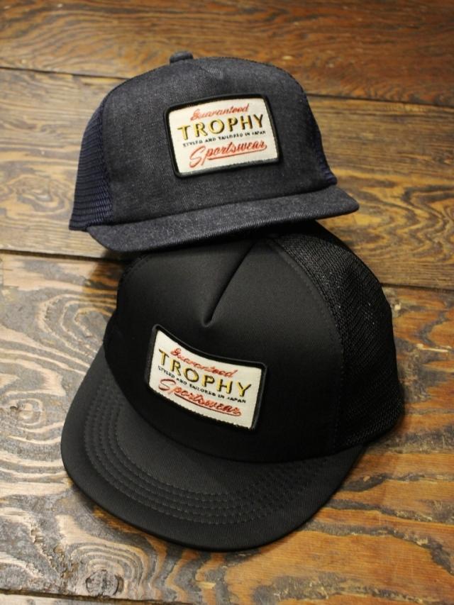 TROPHY CLOTHING   「Sportswear Logo Mesh Cap」  メッシュキャップ