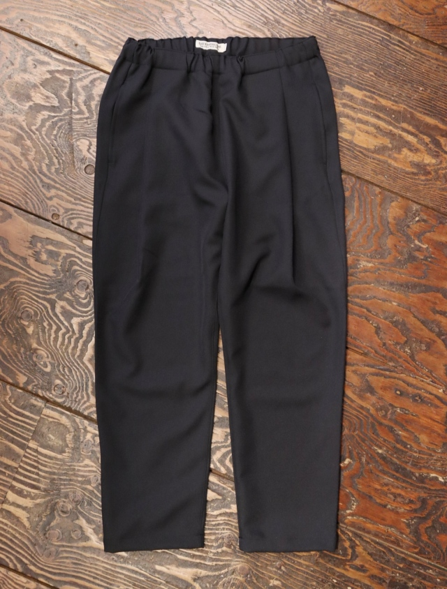 COOTIE  「 Polyester Twill Easy Ankle Pants 」 1タック クロップドイージーパンツ
