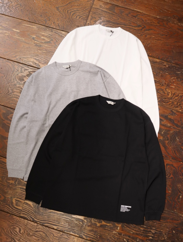 COOTIE  「 Compact Yarn Honeycomb L/S Tee 」 ハニカムロンティー