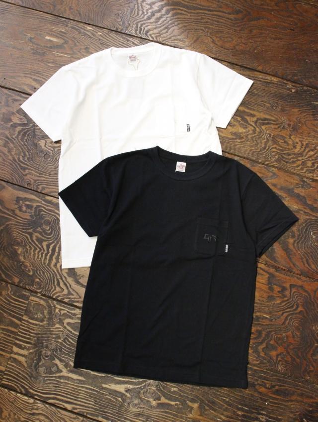 CUT RATE  「LOGO POCKET T-SHIRT」 鹿の子ポケットティーシャツ