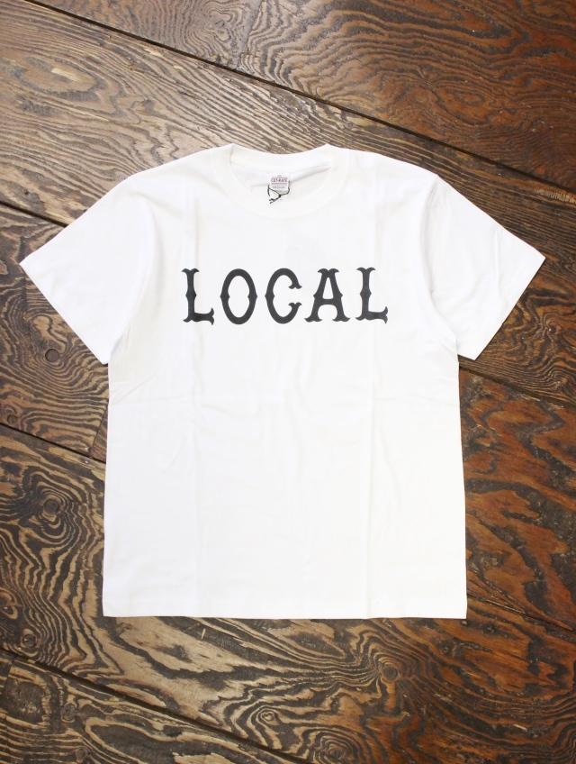 CUT RATE  「LOCAL T-SHIRT」 プリントティーシャツ