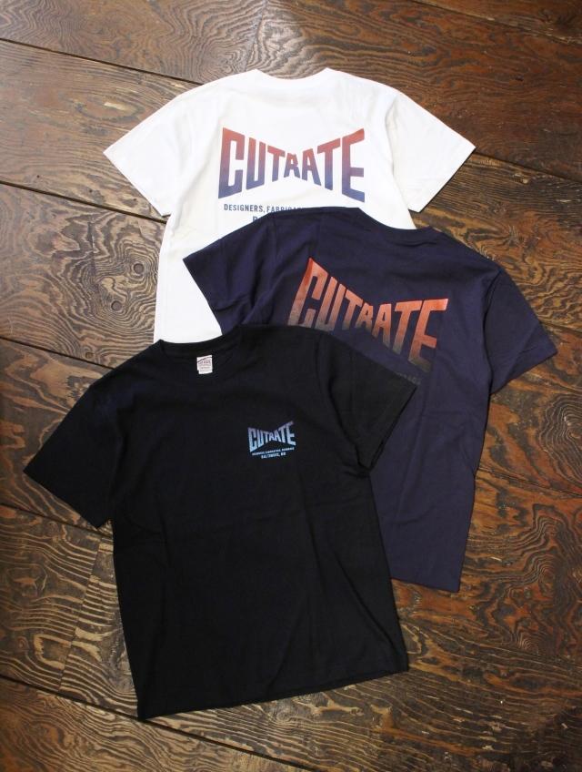 CUT RATE  「GRADATION LOGO T-SHIRT」 プリントティーシャツ