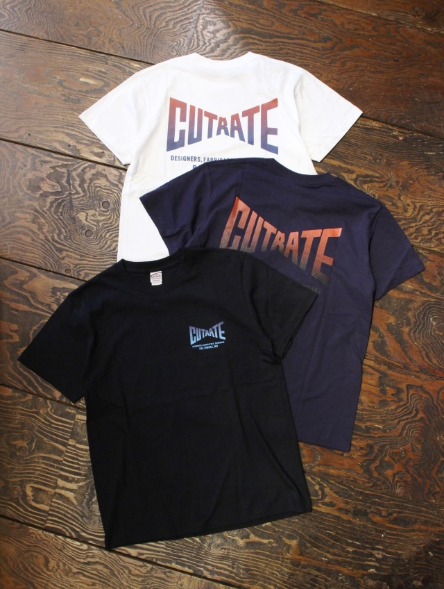 CUT RATE  「GRADATION LOGO T-SHIRT」 プリントティーシャツ