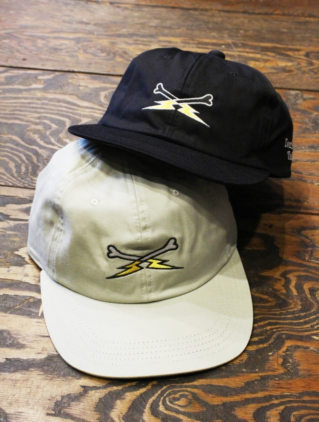ROUGH AND RUGGED  「BONE THUNDER CAP 」 6パネルキャップ