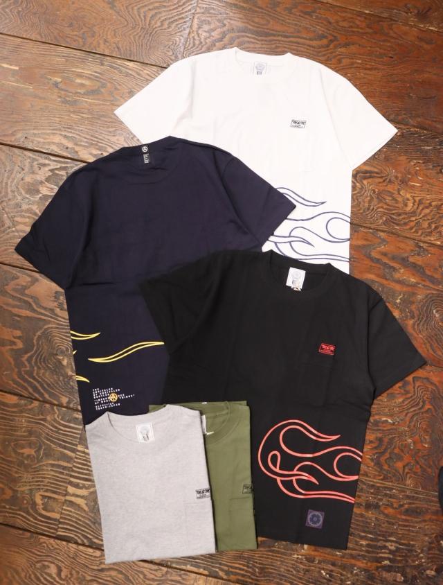 【 8月14日発売!】 M&M CUSTOM PERFORMANCE  × UNRIVALED 「 PRINT S/S T-SHIRT 」 プリントティーシャツ