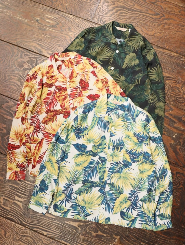 TROPHY CLOTHING  「 Duke Hawaiian L/S Shirt 」  ハワイアンシャツ