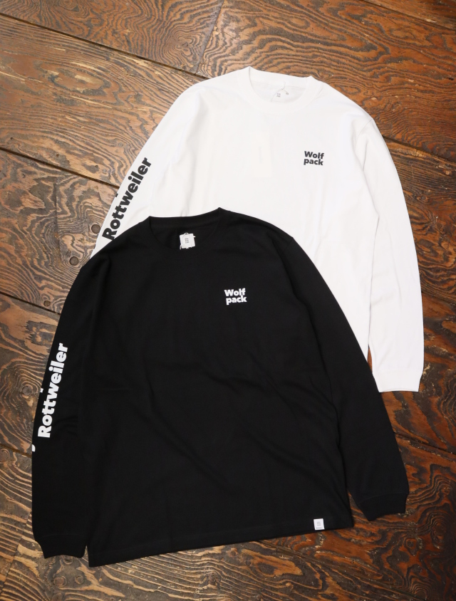 ROTTWEILER  「 W.P LS TEE 」  プリントロンティー