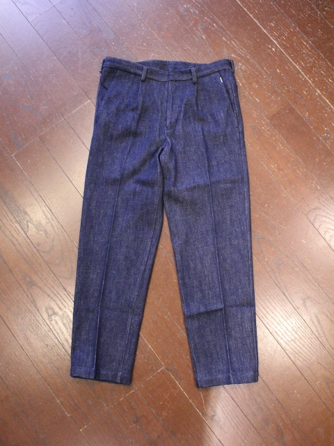 CAPTAINS HELM   「#LOOSE DENIM SLACKS PANTS」  デニムスラックス