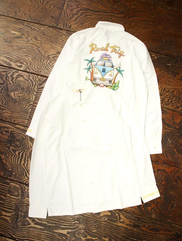 SOFTMACHINE  「ROAD TRIP SHIRTS」 レギュラーカラーシャツ