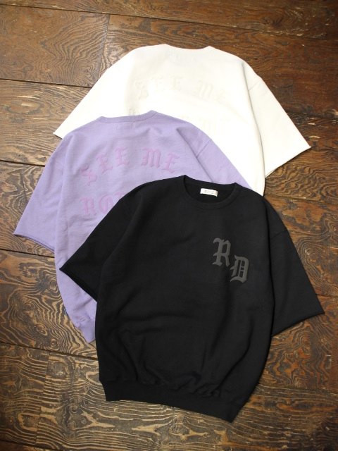 RADIALL  「CRUISE - CREW NECK SWEAT SHIRT S/S」  ショートスリーブスウェット