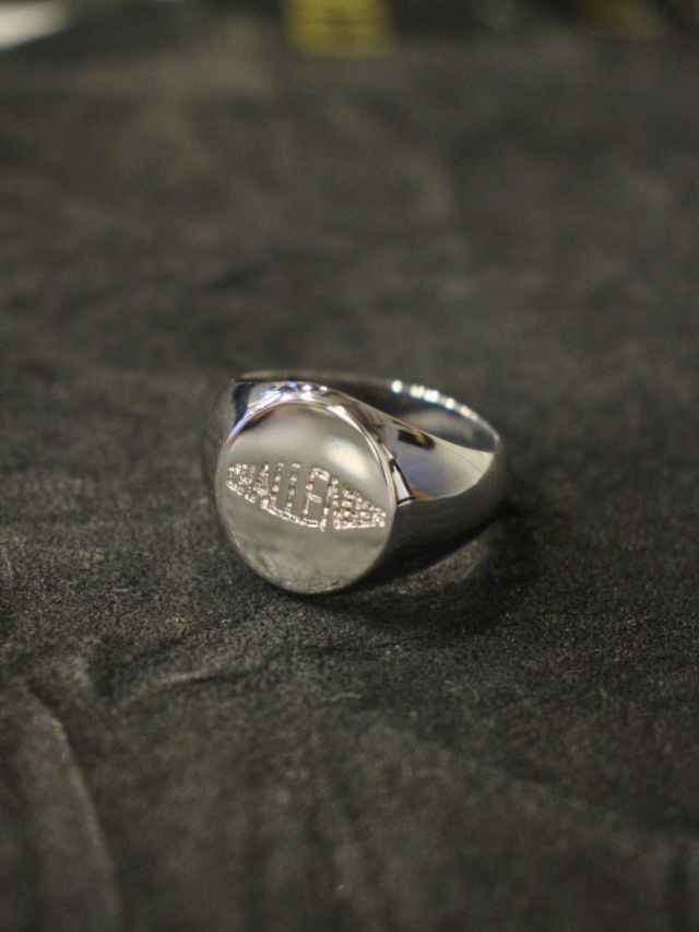 CHALLENGER  「LOGO SIGNET RING <SILVER925>」  SILVER925製 リング