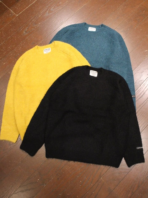 CAPTAINS HELM   「#MOHAIR CREW KNIT」  クルーネックニットセーター