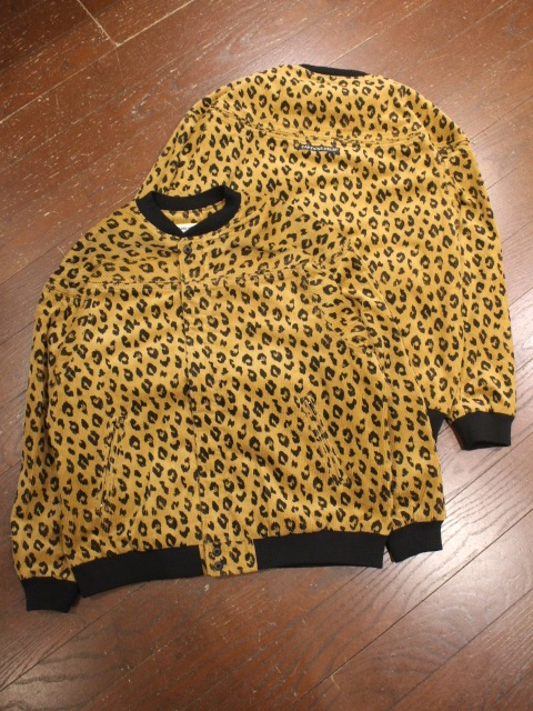 CAPTAINS HELM   「#LEOPARD CORDUROY JACKET」  コーデュロイジャケット