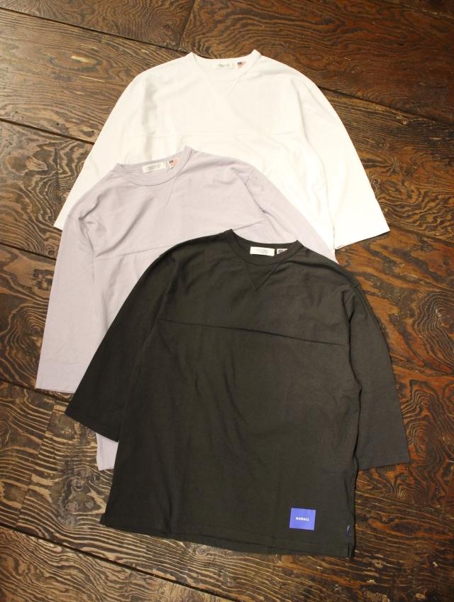 RADIALL    「FADE - CREW NECK T-SHIRT 3Q/S」 7分袖ティーシャツ