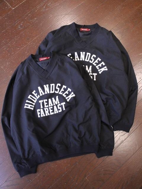 HIDEANDSEEK 「College Windshirt」 ウインドシャツ