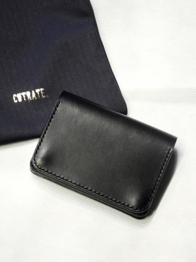 CUT RATE   「CR&PL MINI WALLET」 プレーンレザーミニウォレット