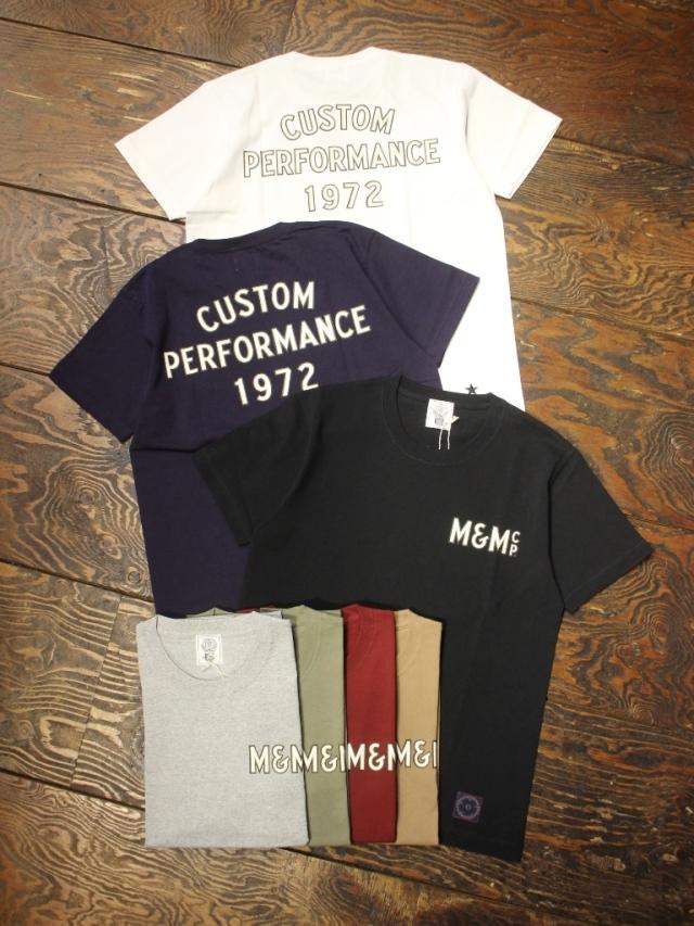 M&M CUSTOM PERFORMANCE   「PRINT S/S T-SHIRT (CUSTOM PERFORMANCE 1972)」 プリントティーシャツ