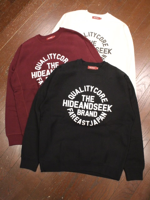 HIDEANDSEEK 「Circle Logo Sweat Shirt」 クルーネックスウェット