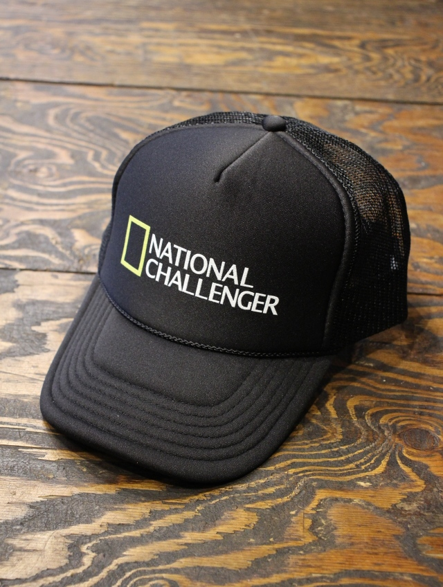 CHALLENGER   「NATIONAL CHALLENGER CAP 」 メッシュキャップ