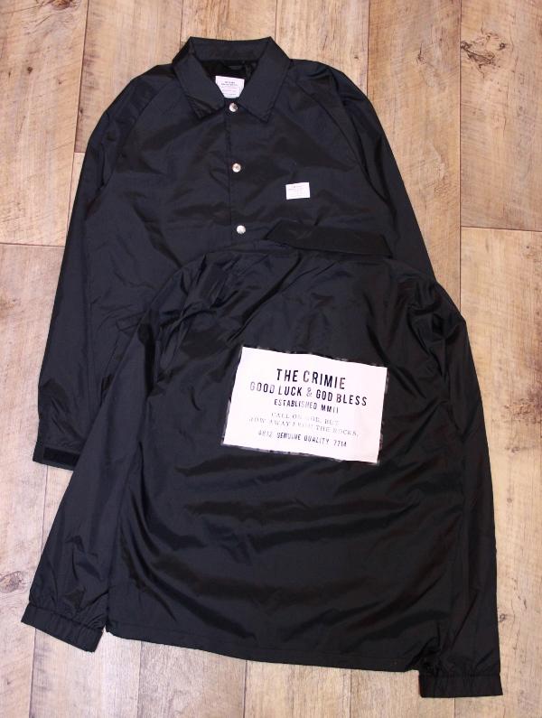 CRIMIE  「COACHES BOX LOGO JACKET」  ナイロンコーチジャケット