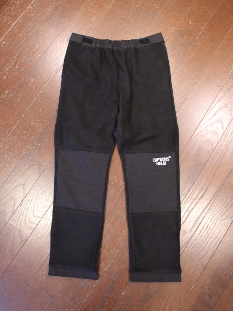 CAPTAINS HELM   「#FLEECE TRACK PANTS」  フリーストラックパンツ