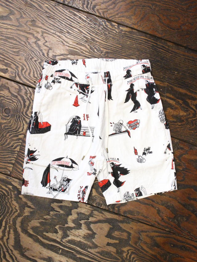 SOFTMACHINE  「CLOAK CAPES SHORTS」 ショートパンツ