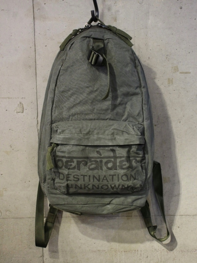 Liberaiders  「 LIBERAIDERS CANVAS DAY BACKPACK 」  バックパック