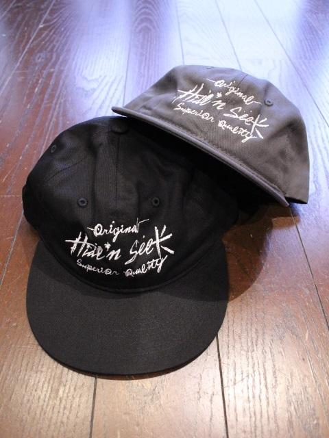 HIDEANDSEEK × TENDERLOIN 「HIDEANDSEEK × TENDERLOIN Twill CAP」 ツイルキャップ