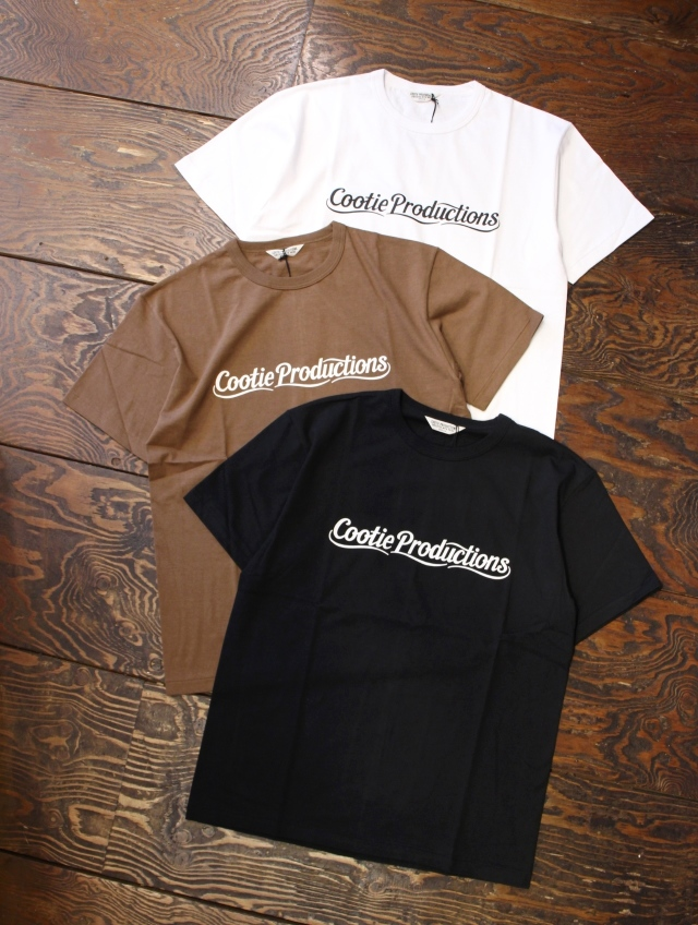 COOTIE  「Print S/S Tee (LETTERED LOGO)」 プリントティーシャツ