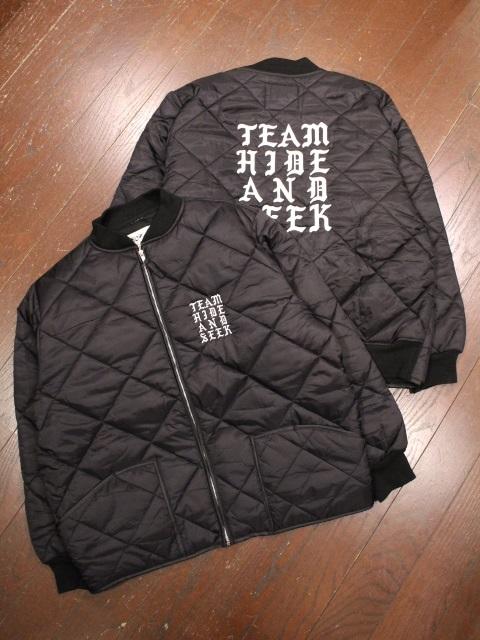 HIDEANDSEEK 「Nylon Quilted Jacket」 キルティングジャケット