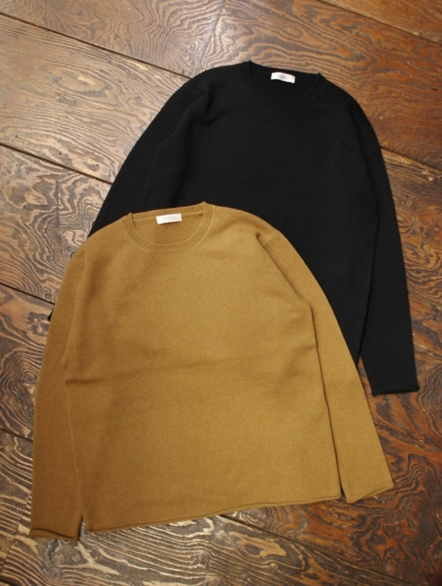 RADIALL  「GASKET - CREW NECK SWEATER L/S」  クルーネックニットセーター