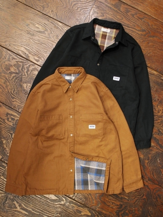RADIALL  「SUBURBAN - REGULAR COLLARED SHIRT L/S」  レギュラーカラーシャツジャケット