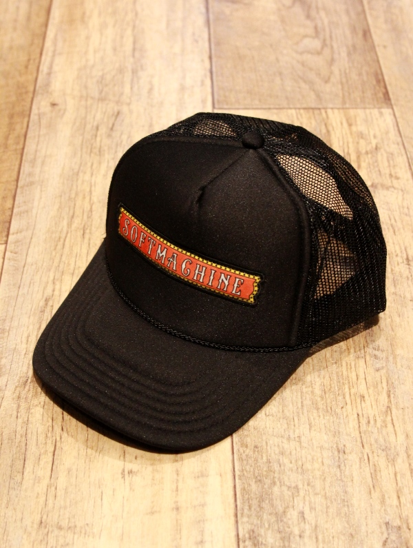 SOFTMACHINE  「RED LIGHT SING CAP」 メッシュキャップ