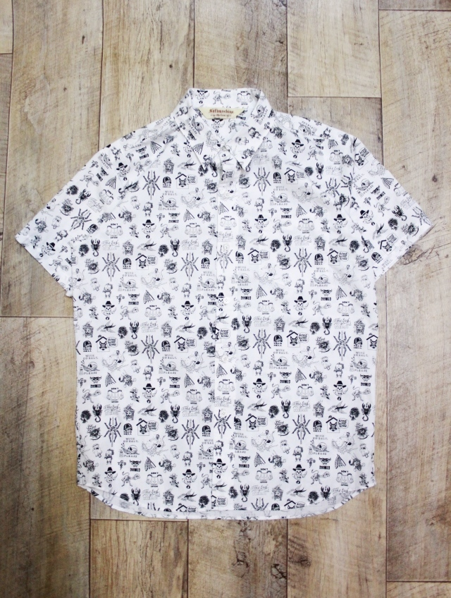 SOFTMACHINE  「JUMBLE SHIRTS S/S」 レギュラーカラーシャツ